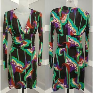 T-bags Los Angeles SEXY Abstract Dress XS
